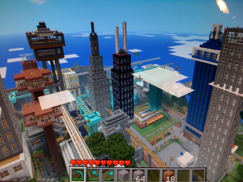 Minecraft Xbox One Kinect