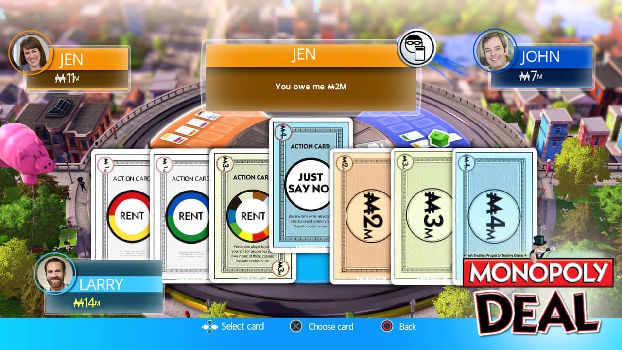 Monopoly Deal Xbox