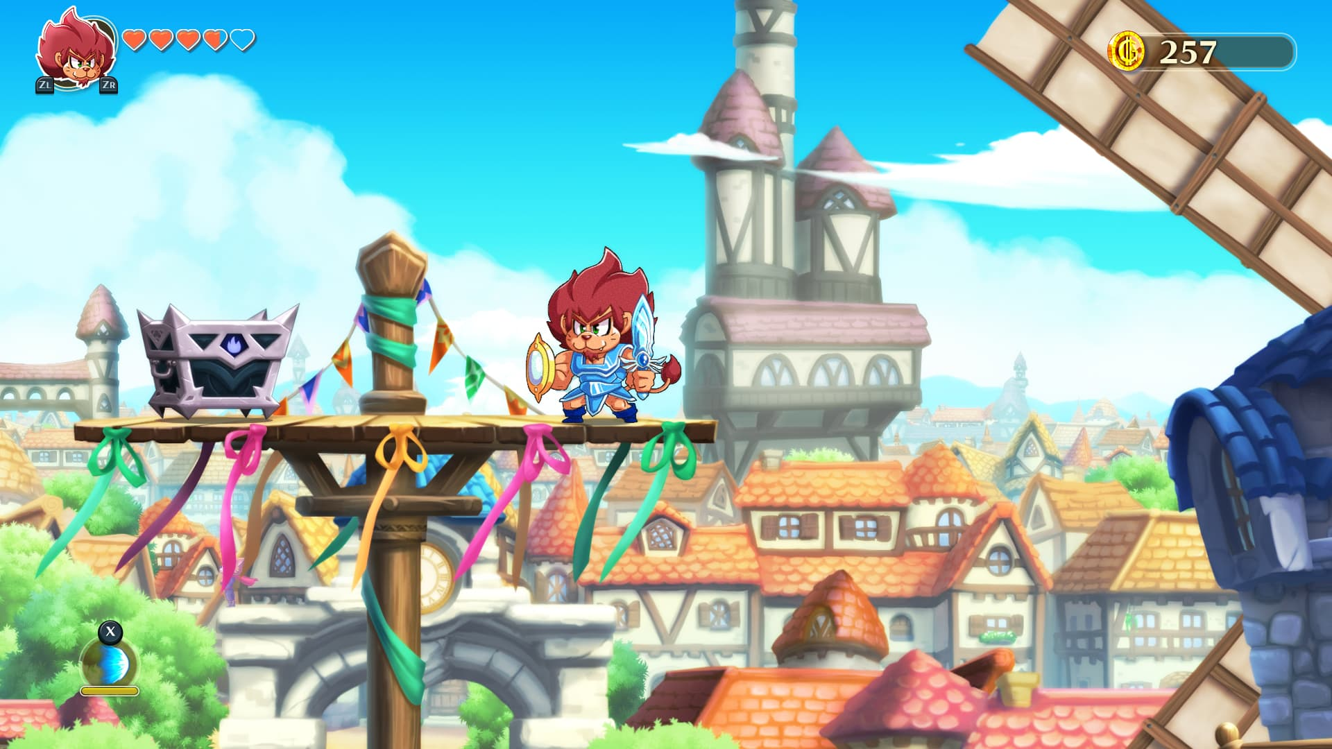 Xbox One Monster Boy and the Cursed Kingdom