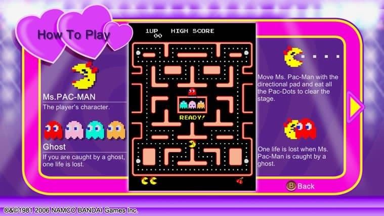 Ms. Pac-Man Xbox