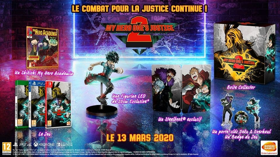 Xbox One My Hero: One's Justice 2