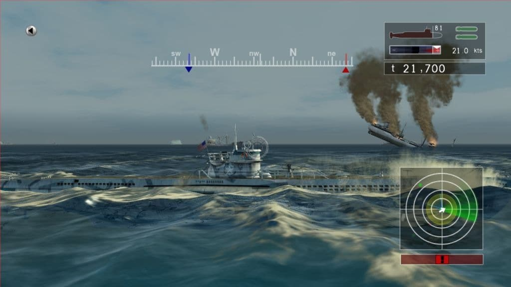 Naval Assault : The Killing Tide Xbox