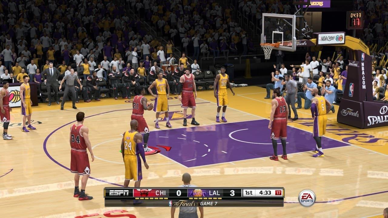 NBA Live 15 Xbox