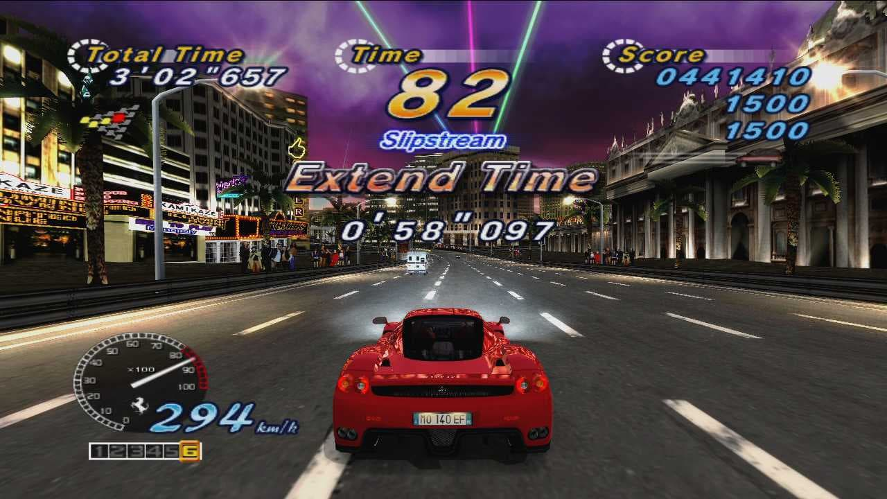 Xbox 360 OutRun Online Arcade