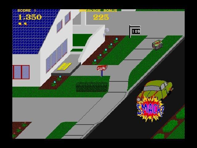 Xbox 360 Paperboy