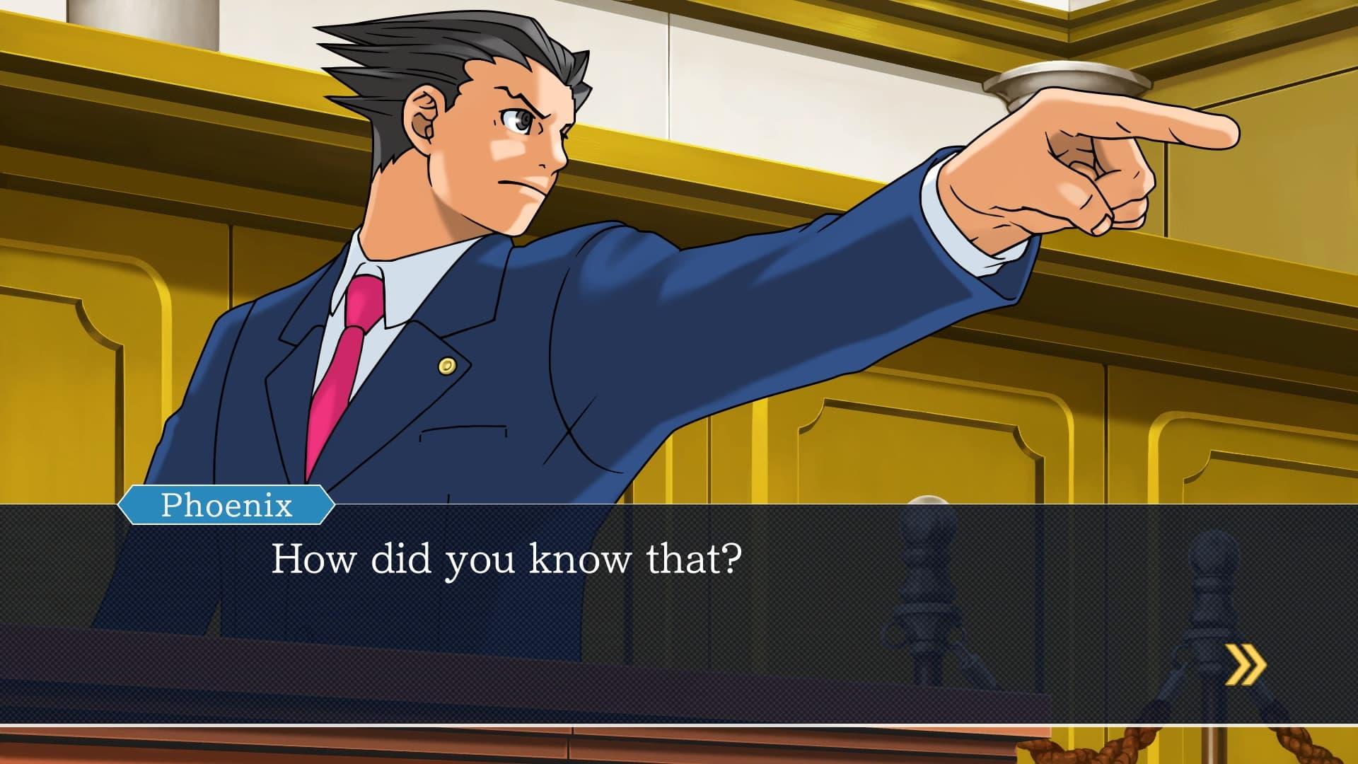 Xbox One Phoenix Wright: Ace Attorney Trilogy