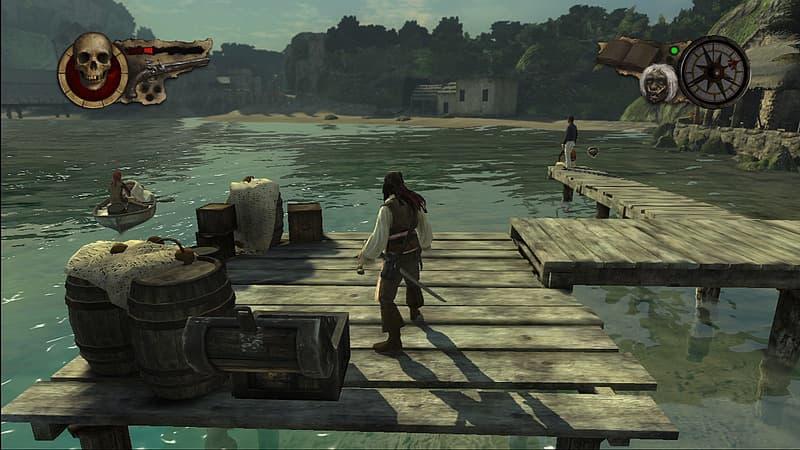 Pirates des Caraïbes: Jusqu'au Bout du Monde Xbox 360
