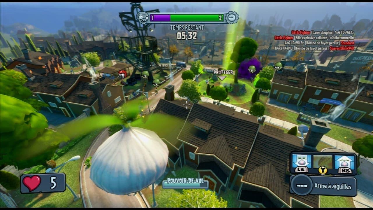 Plants Vs Zombies Garden Warfare Jeu Xbox 360