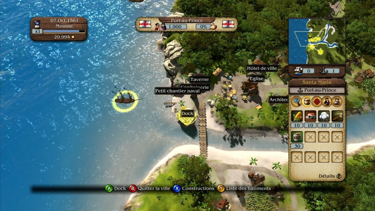 Port Royale 3 - Image n°7