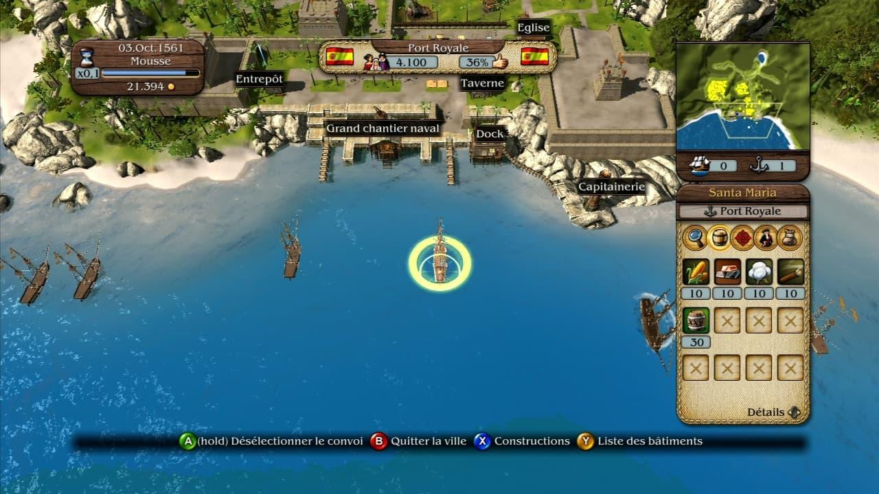 Port Royale 3 - Image n°8