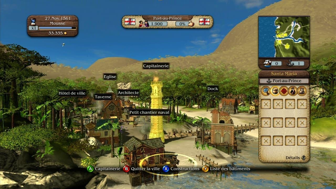 Port Royale 3 - Jeu Xbox 360