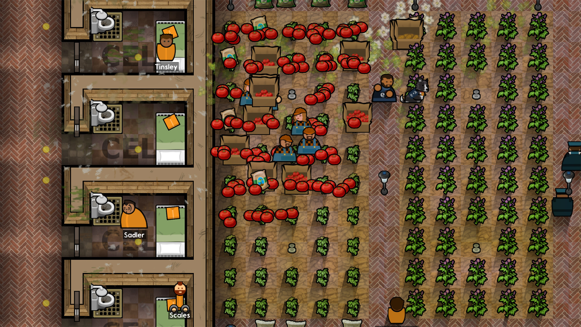 Xbox One Prison Architect: Going Green