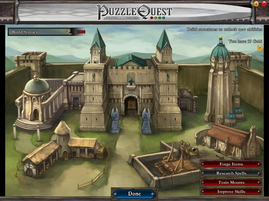 Puzzle Quest: Challenge of the Warlords Xbox