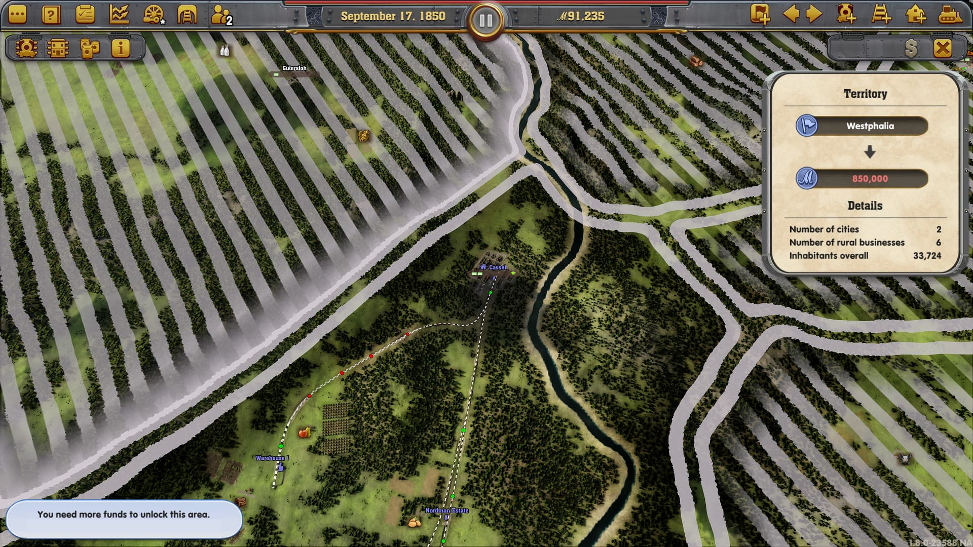 Railway Empire: Germany Xbox One