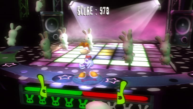 Xbox 360 Rayman Contre Les Lapins Crétins