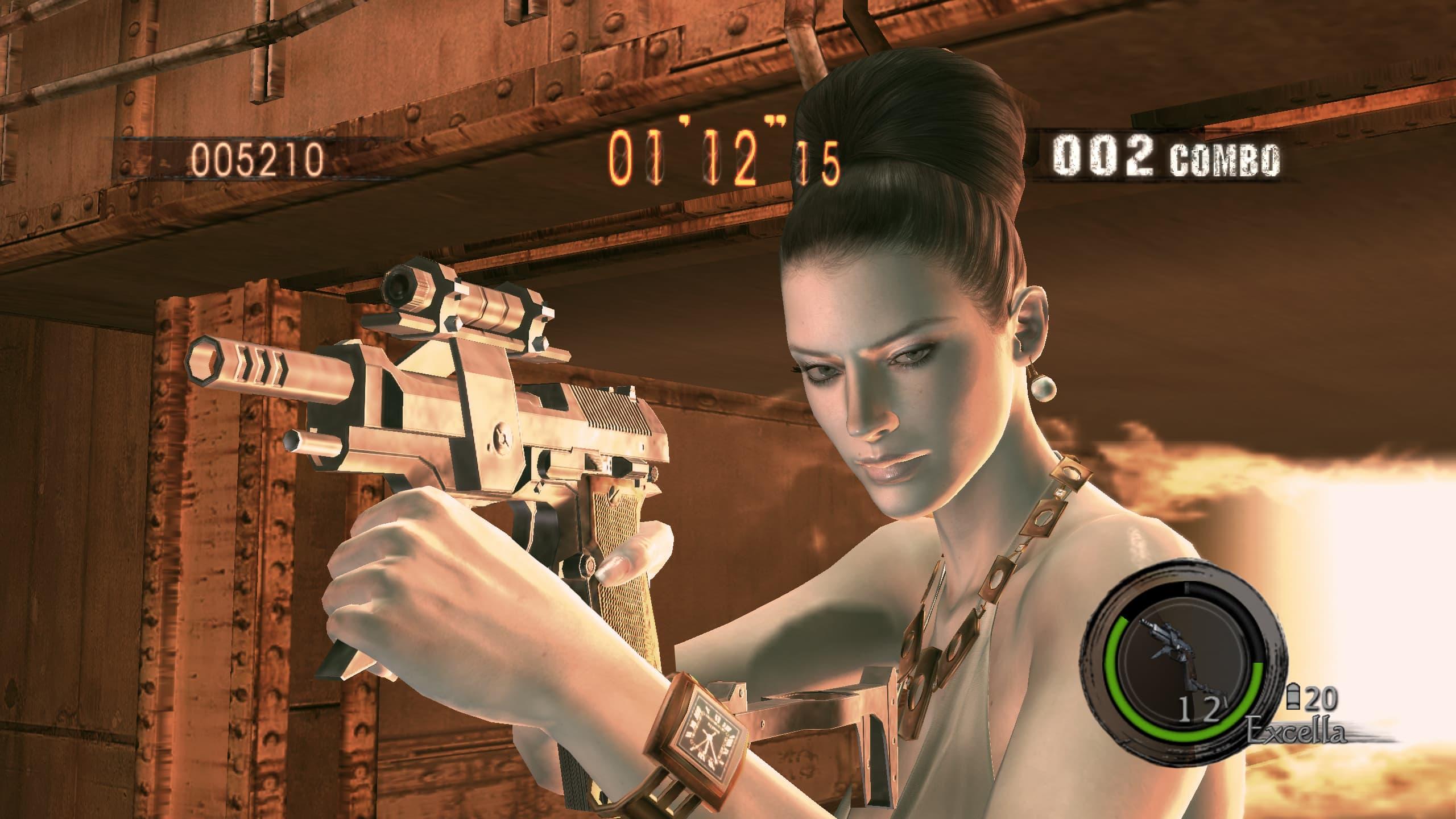 Screenshots des DLC de Resident Evil 5