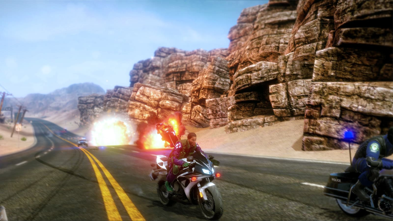 Xbox One Road Redemption