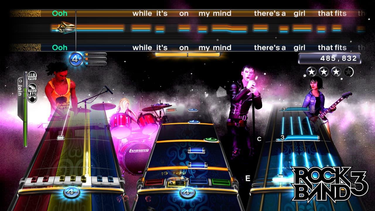 Rock Band 3 Xbox