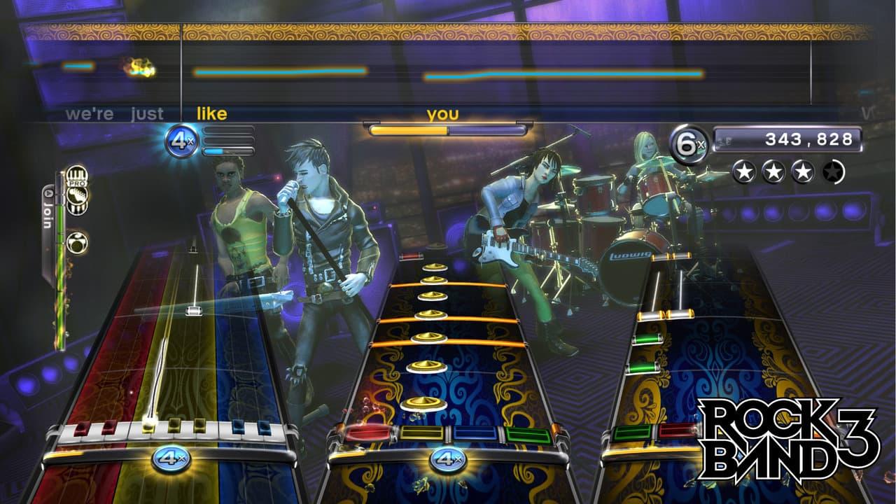 Rock Band 3 Xbox 360