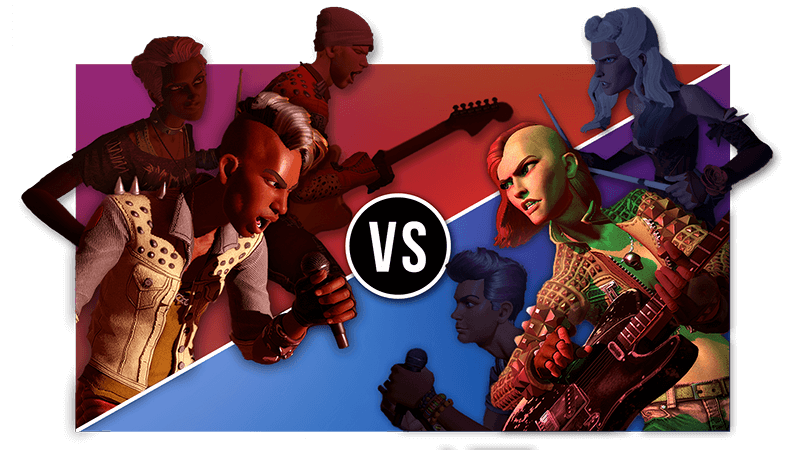 Xbox One Rock Band 4 Rivals