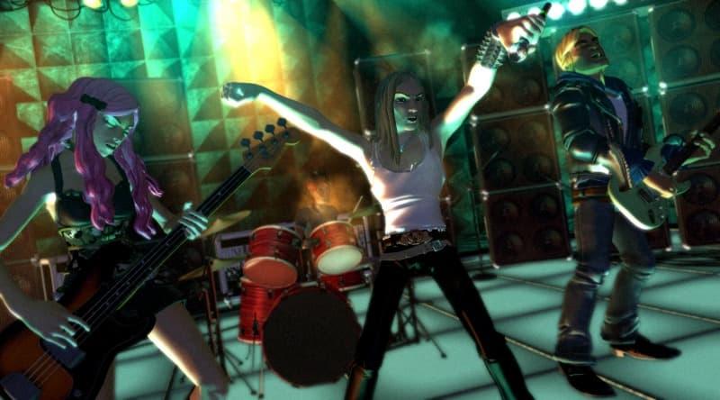 Rock Band Xbox