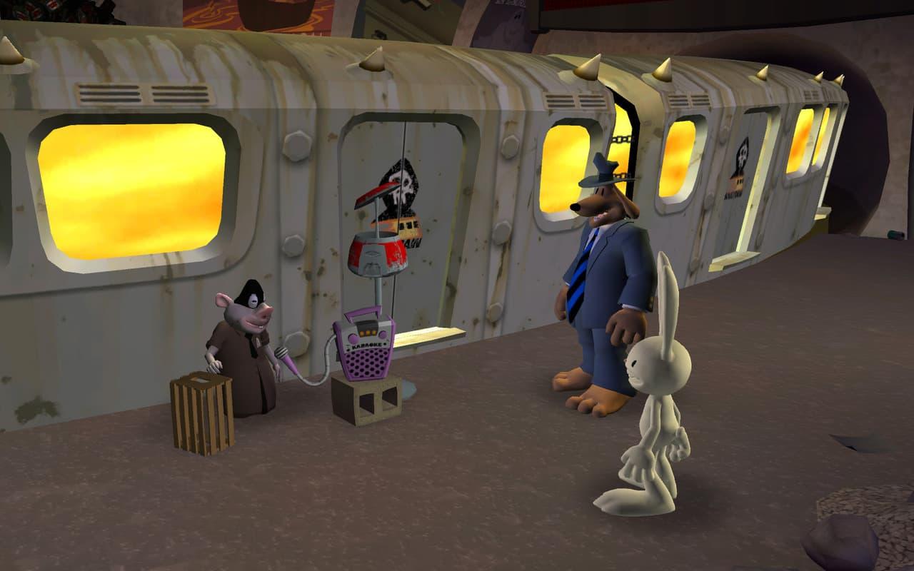 Sam & Max: Saison 2: Au-Delà du Temps et de l'Espace Xbox