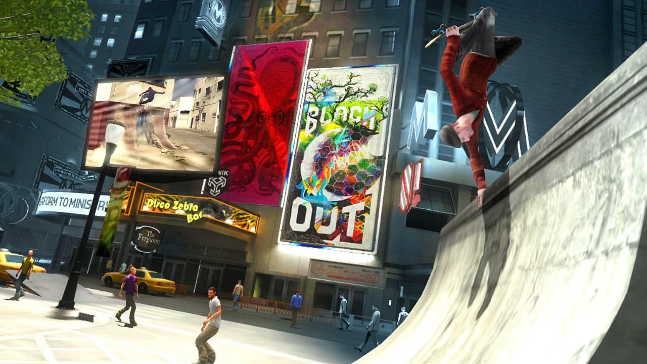 Shaun White Skateboarding на XBOX360.