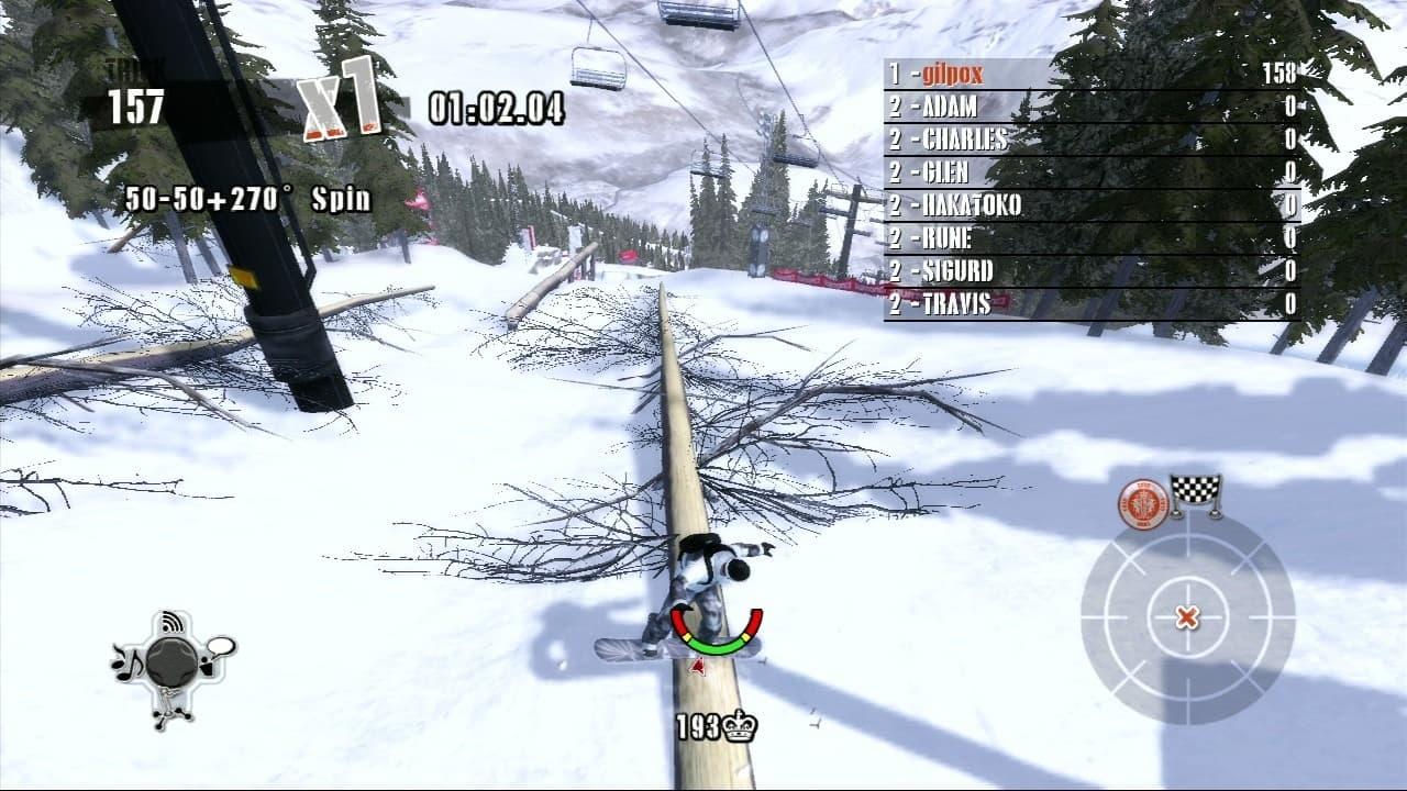Shaun White Snowboarding Xbox 360