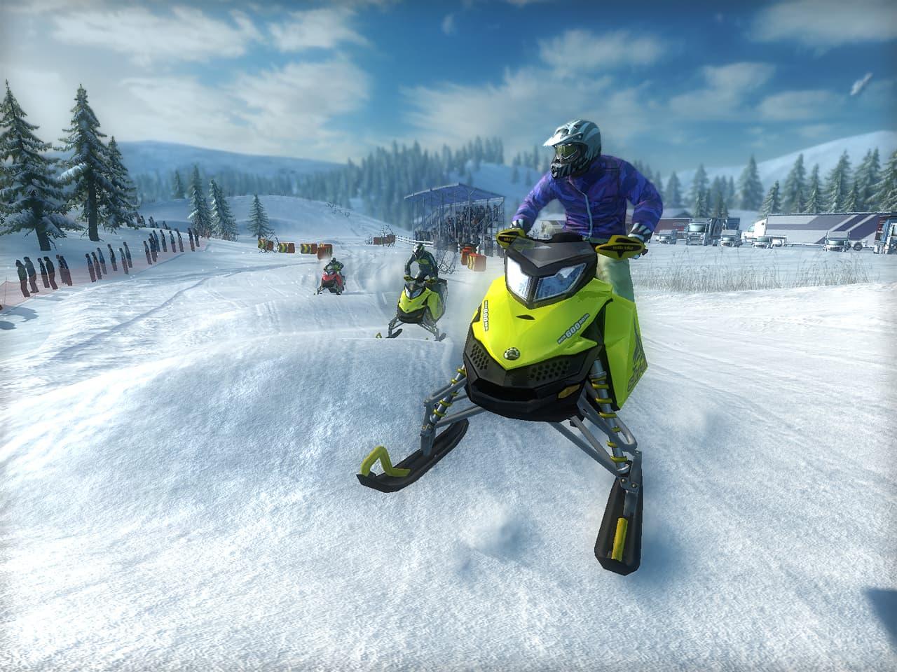 Xbox 360 Ski Doo: Snowmobile Challenge