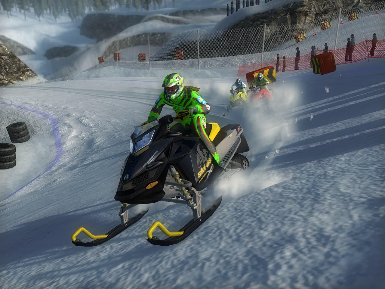 Ski Doo: Snowmobile Challenge - Image n°8