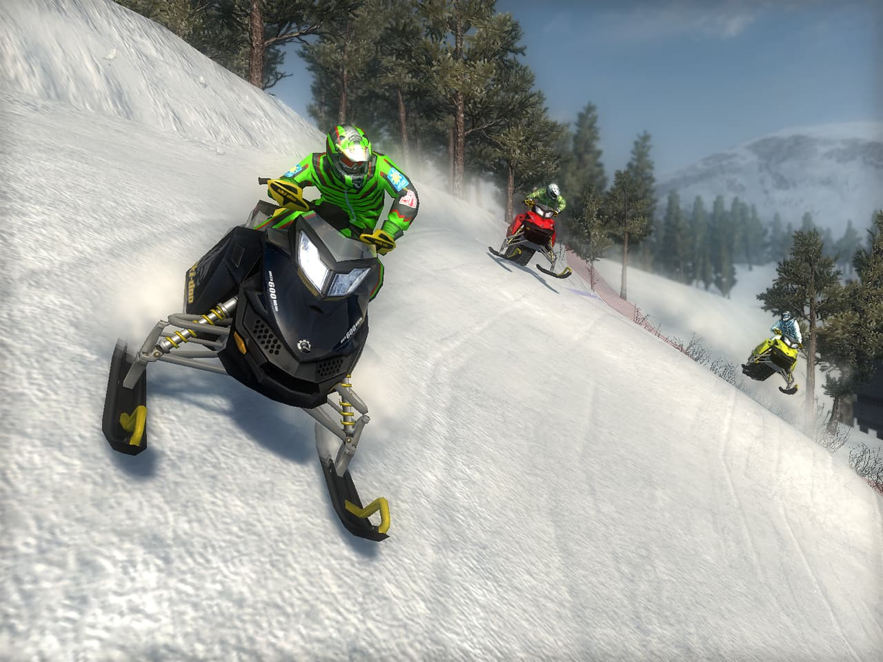 Ski Doo: Snowmobile Challenge - Image n°6