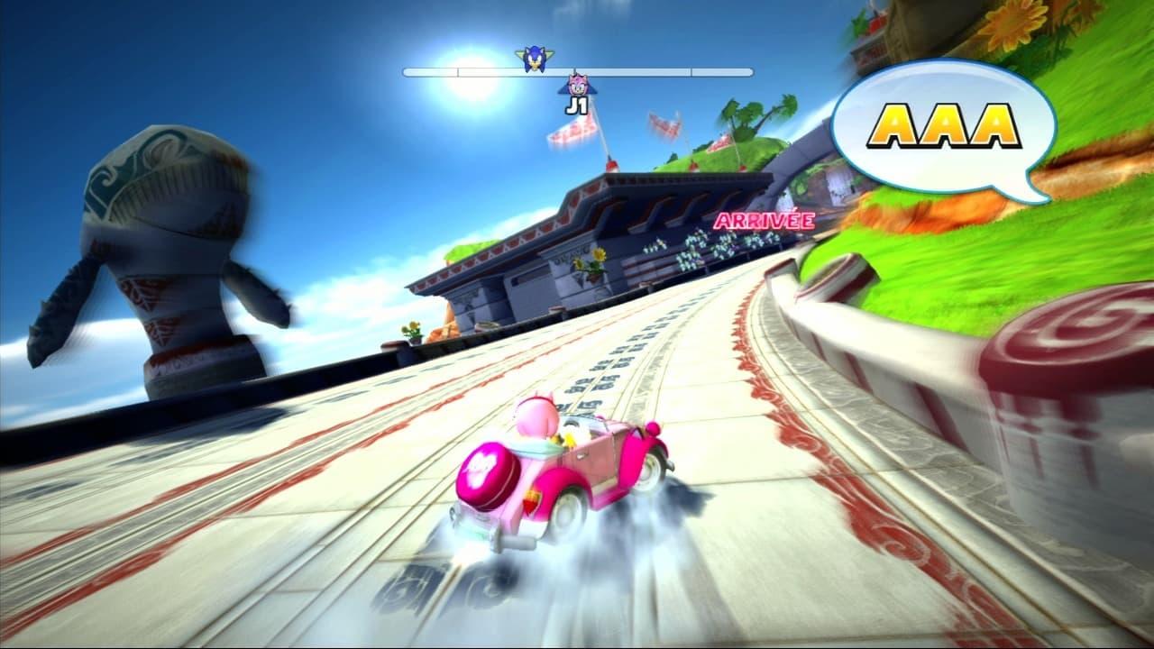 Xbox 360 Sonic & SEGA All Stars Racing