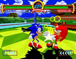 Xbox 360 Sonic the Fighters