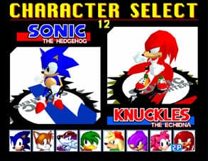 Sonic the Fighters Xbox