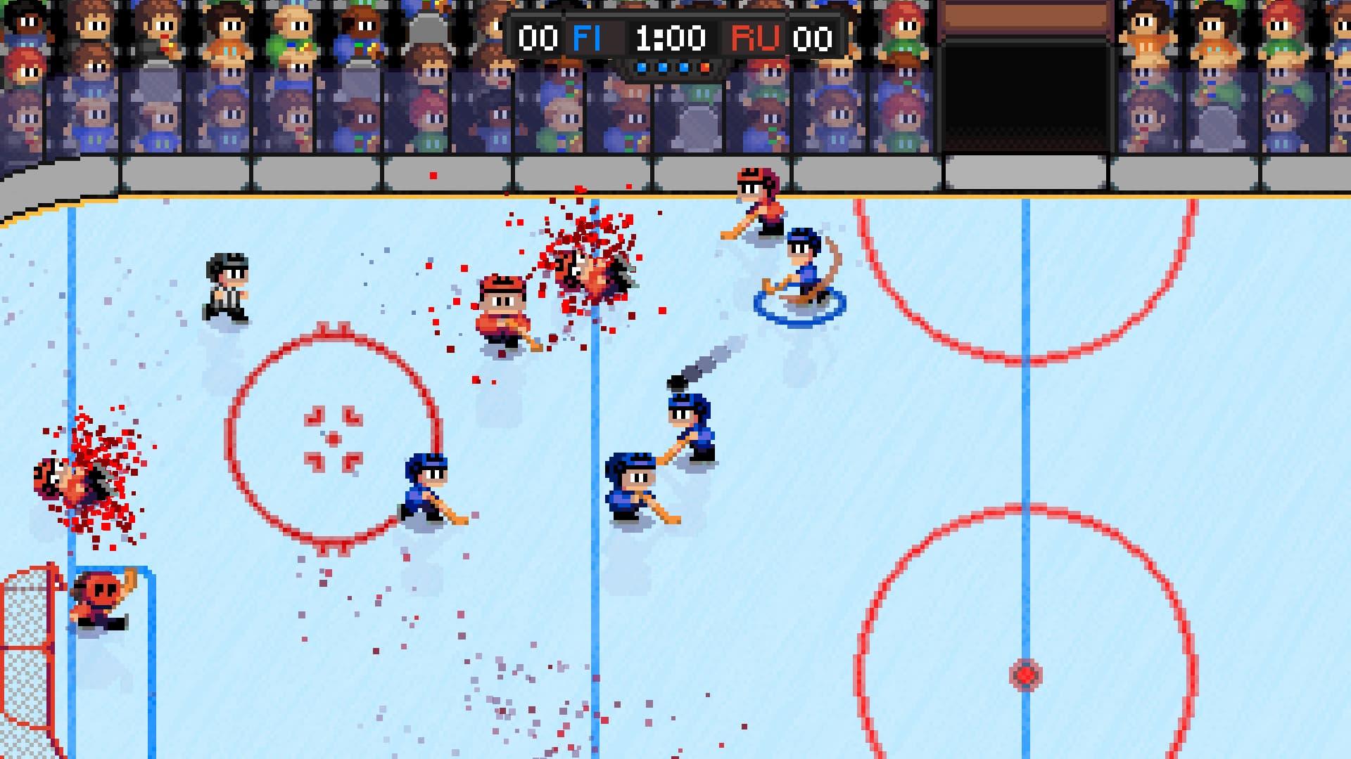 Super Blood Hockey Xbox