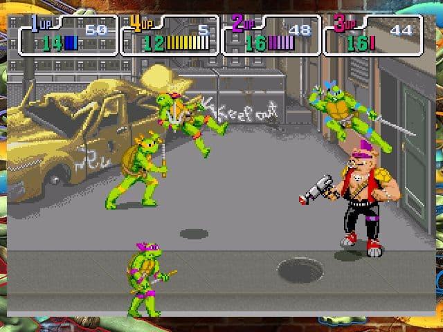Xbox 360 Teenage Mutant Ninja Turtles: 1989 Classic Arcade