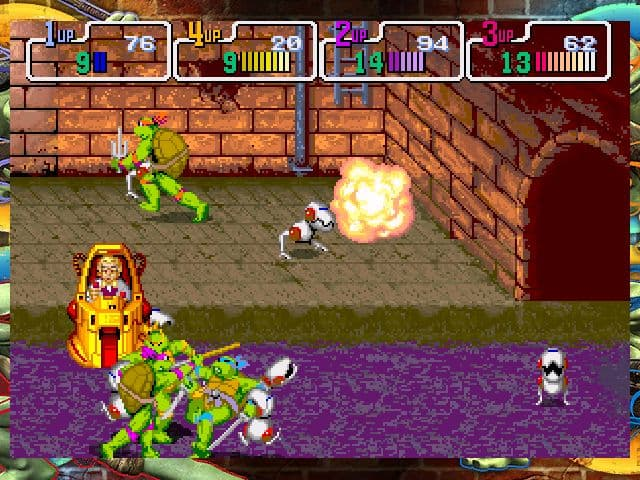 Teenage Mutant Ninja Turtles: 1989 Classic Arcade Xbox