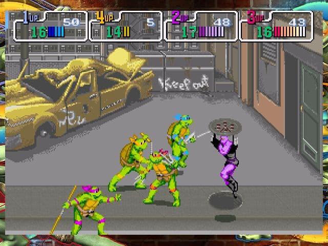 Teenage Mutant Ninja Turtles: 1989 Classic Arcade - Image n°6