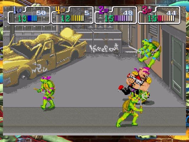 Teenage Mutant Ninja Turtles: 1989 Classic Arcade Xbox 360