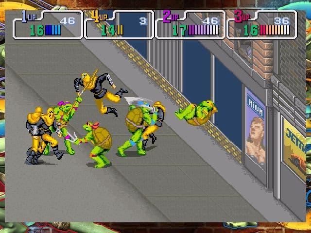 Teenage Mutant Ninja Turtles: 1989 Classic Arcade - Image n°7