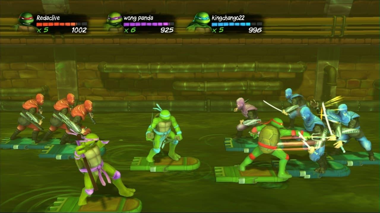 Teenage Mutant Ninja Turtles: Turtles In Time Re-Shelled Xbox 360