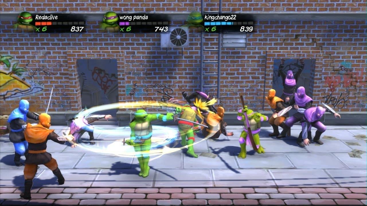 Teenage Mutant Ninja Turtles: Turtles In Time Re-Shelled Xbox