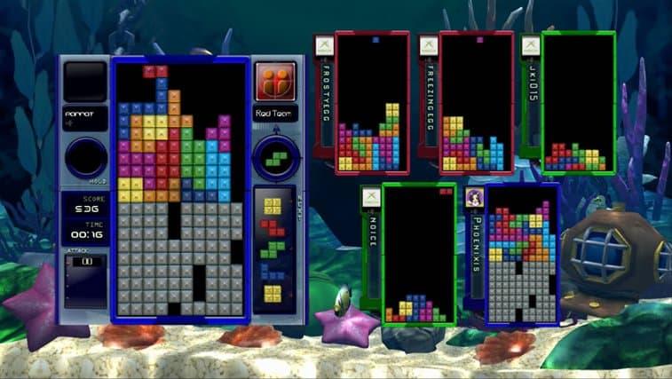 Xbox 360 Tetris Splash
