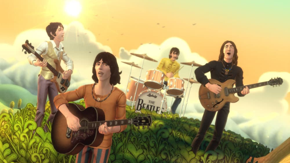 The Beatles Rock Band Xbox