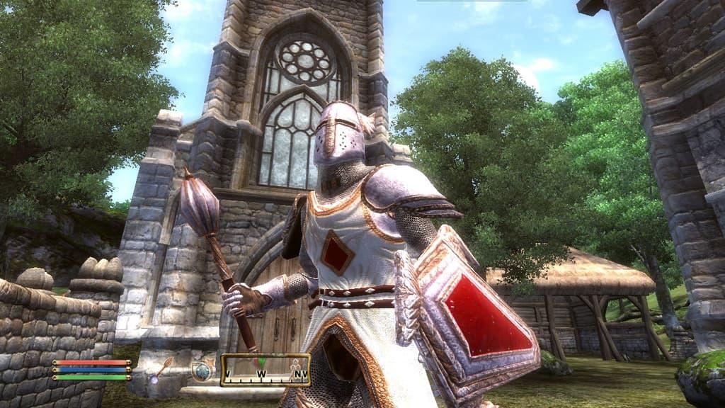 The Elder Scrolls IV: Knights of the Nine Xbox 360
