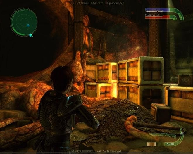 Xbox 360 The Scourge Project
