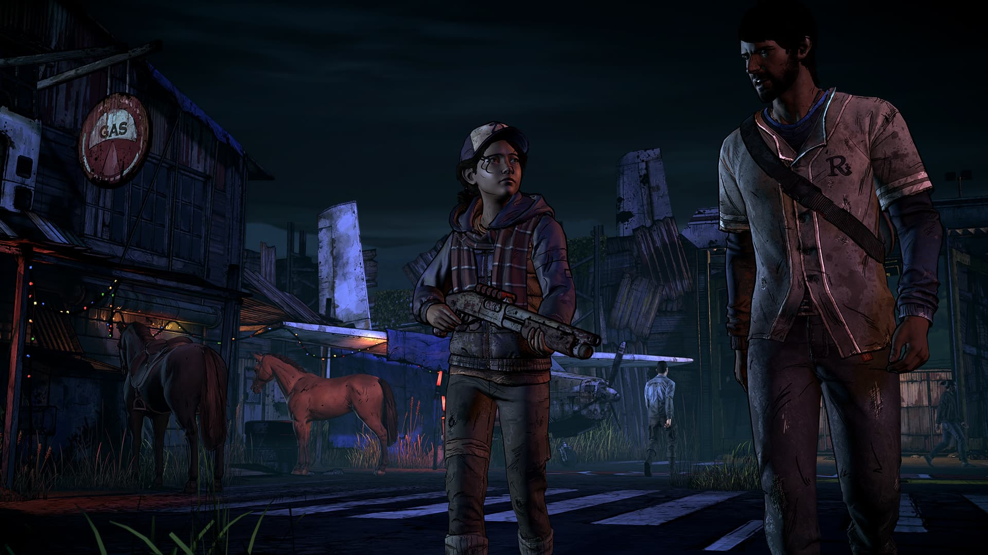 Xbox One The Walking Dead : A New Frontier.
