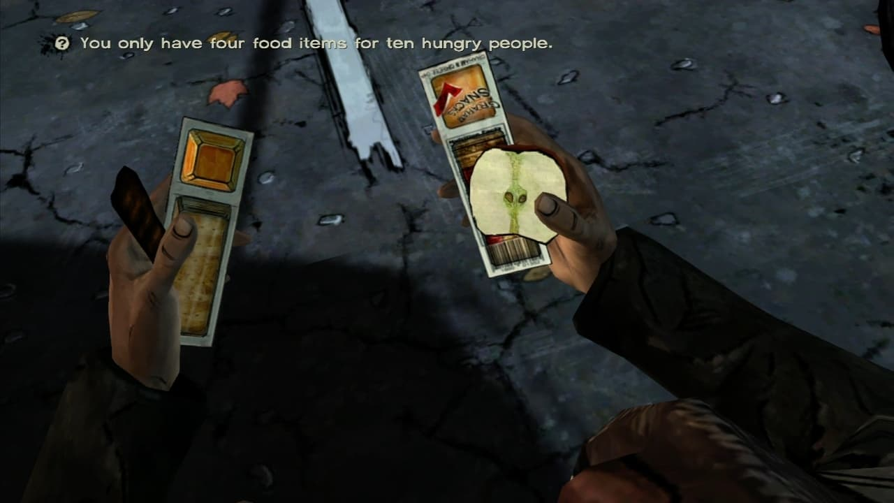 The Walking Dead: Episode 2 - Starved phor Help