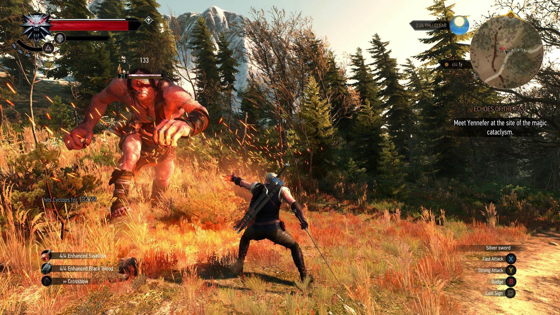 The Witcher 3: quelques captures dÂ'écran Xbox one!