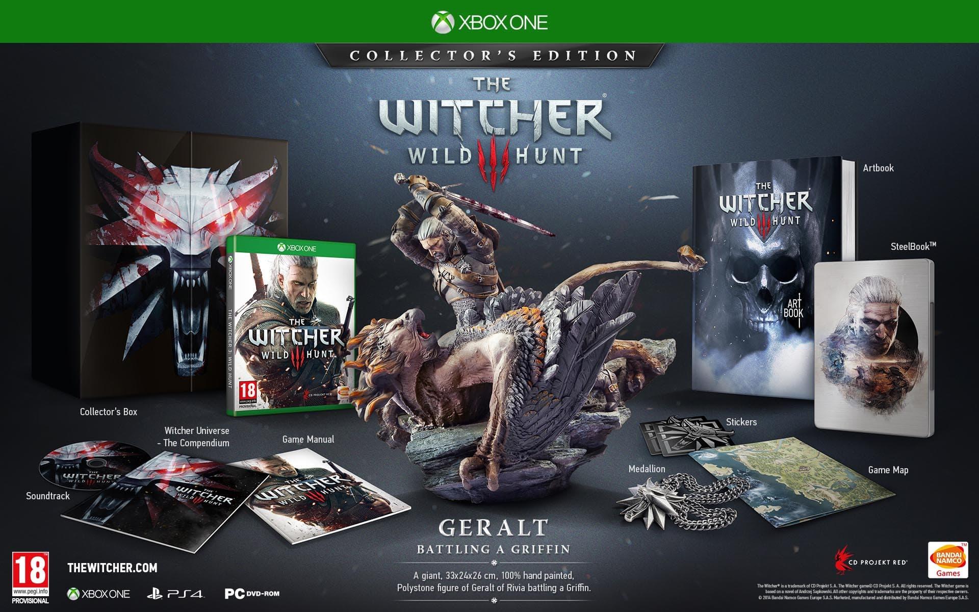 The Witcher 3: Wild Hunt: la version collector dévoilée!